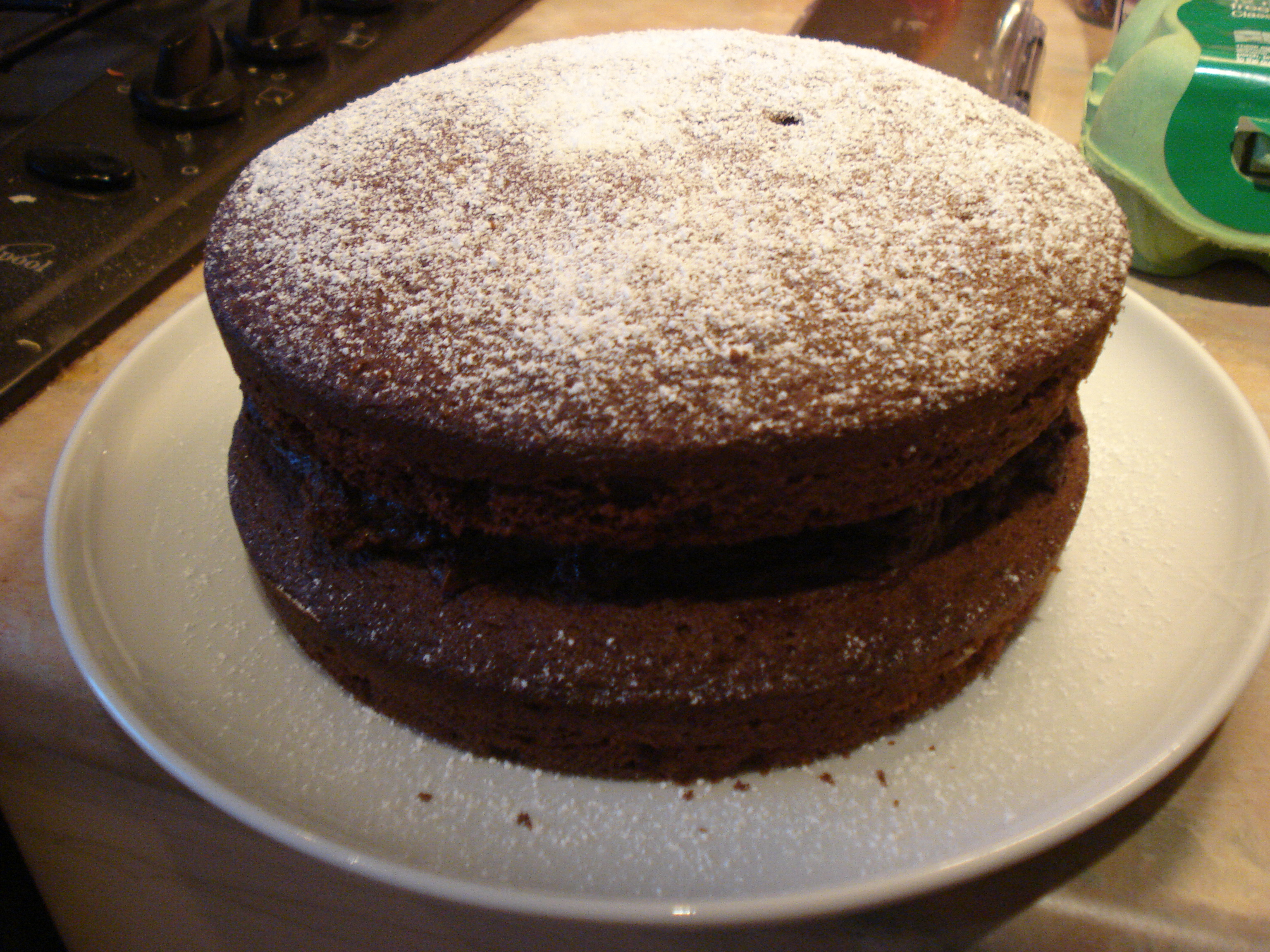 marcus wareing's chocolate cake