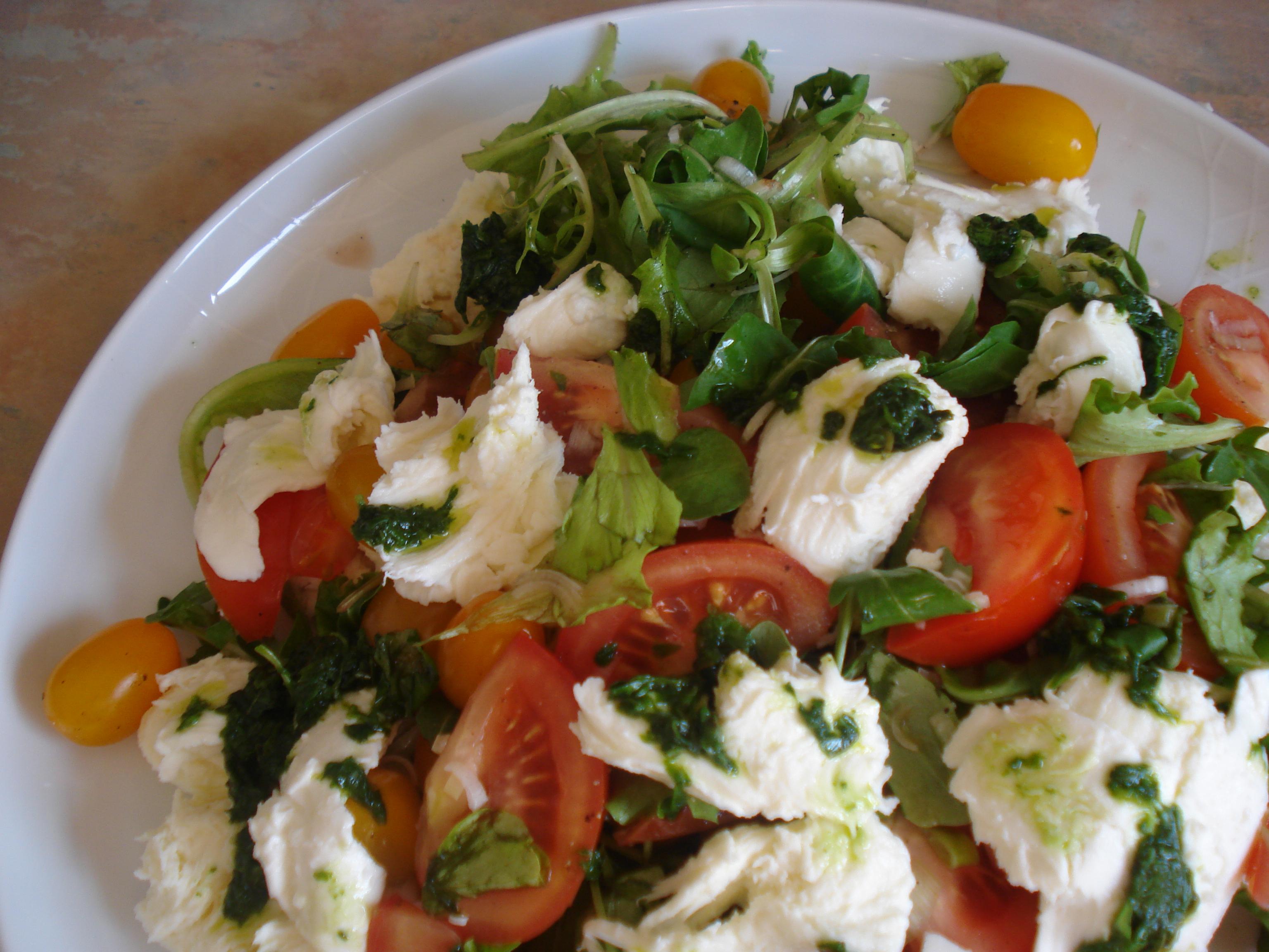 jamie oliver's salad from capri
