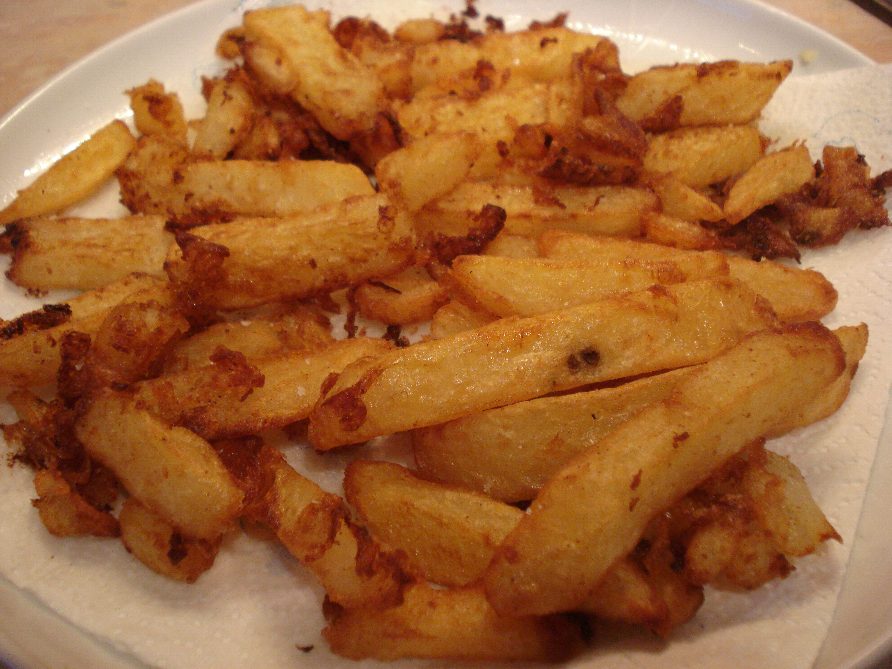 heston blumenthal's perfect triple cooked chips