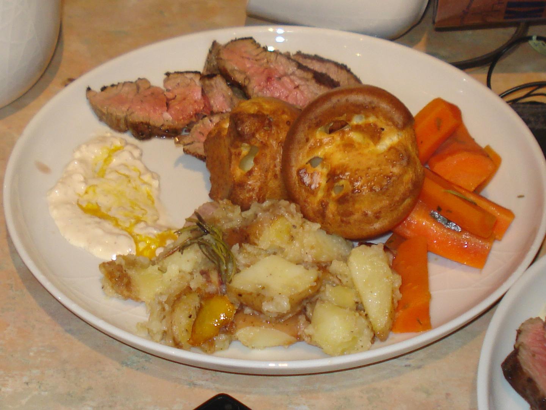 jamie oliver's 30 minute roast beef dinner