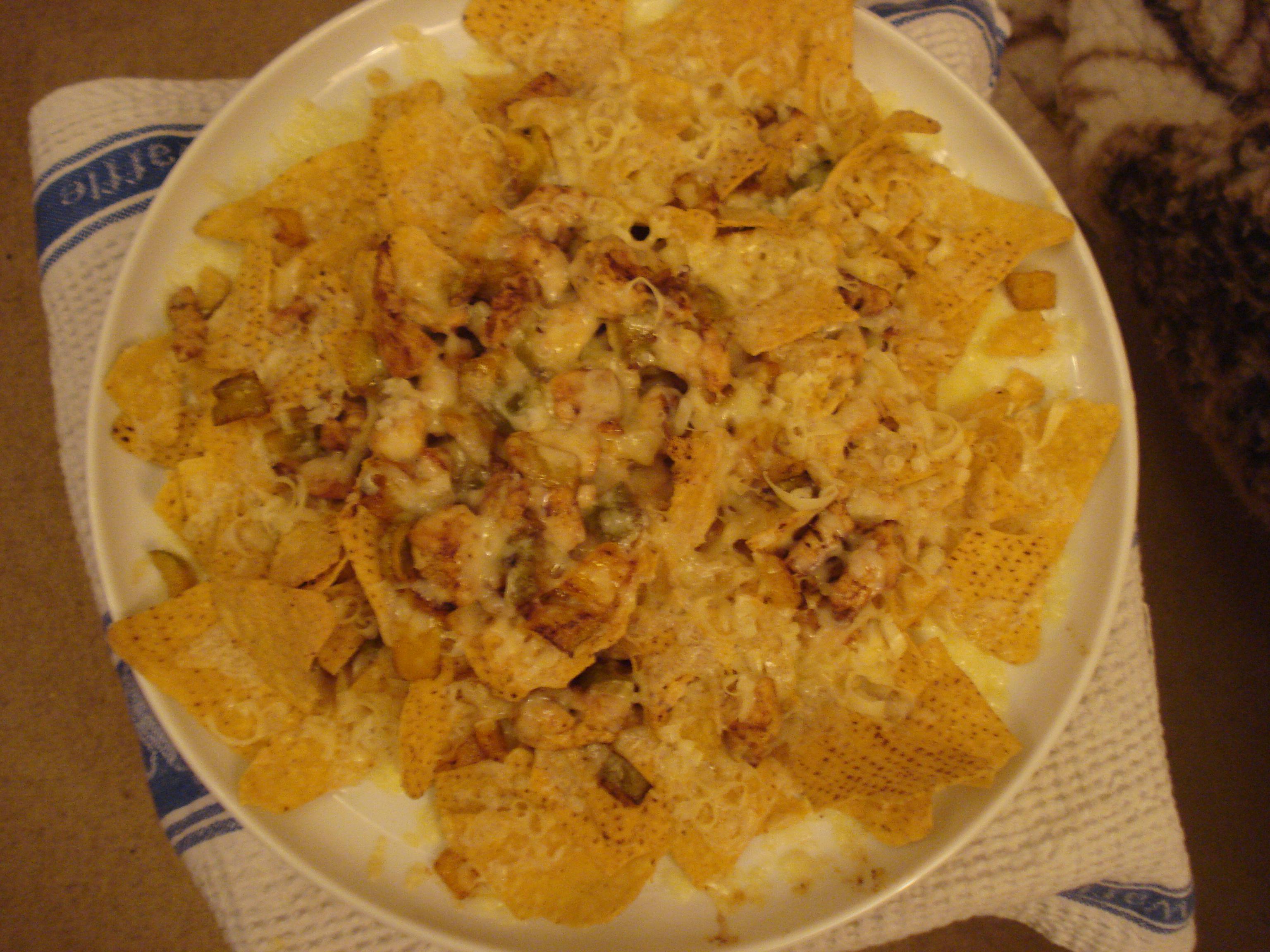 chicken tortilla melt
