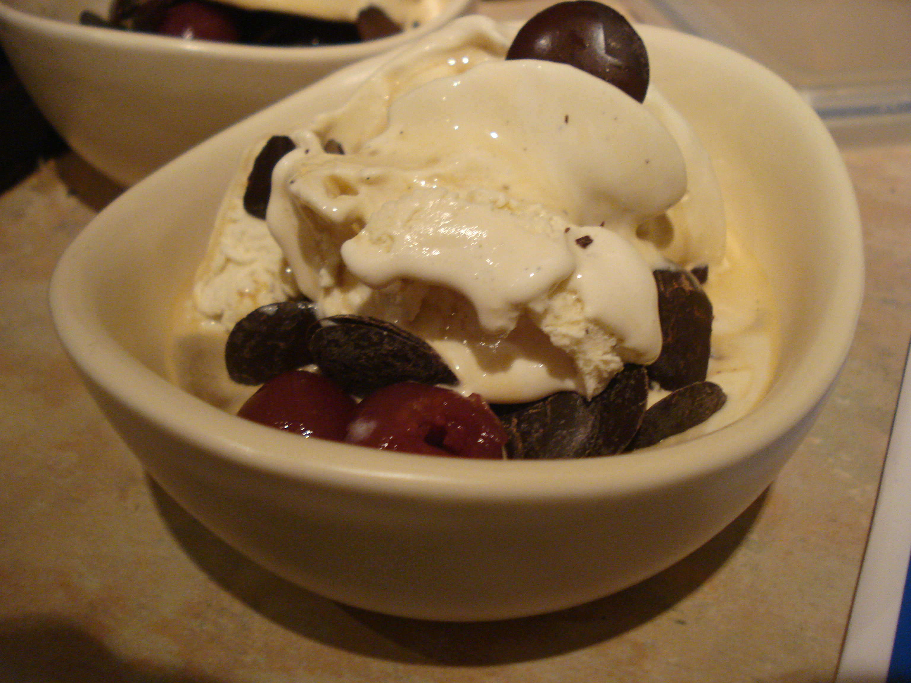 black forest affogato