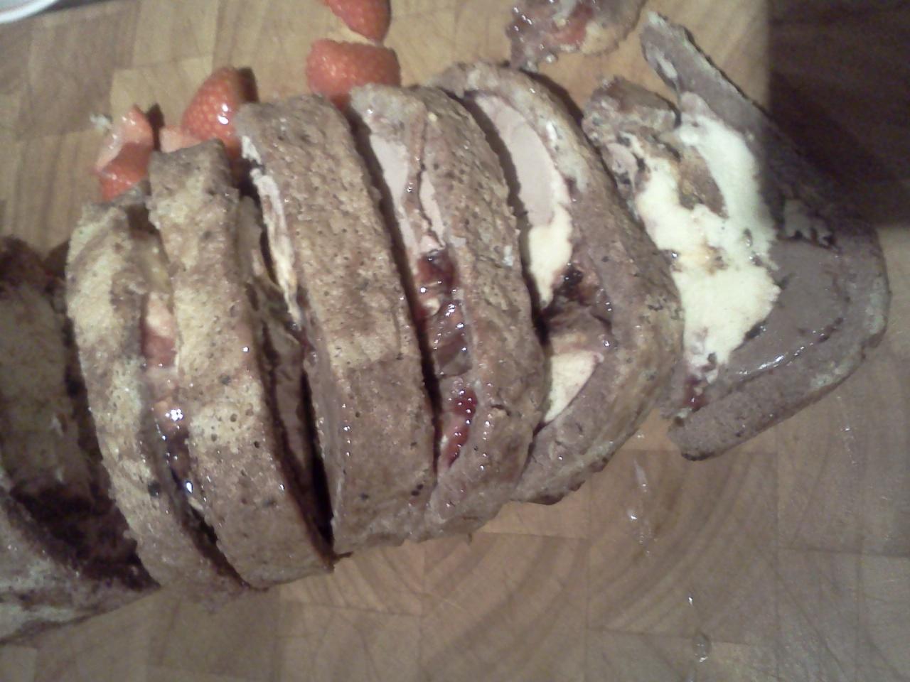 jamie oliver's arctic roll
