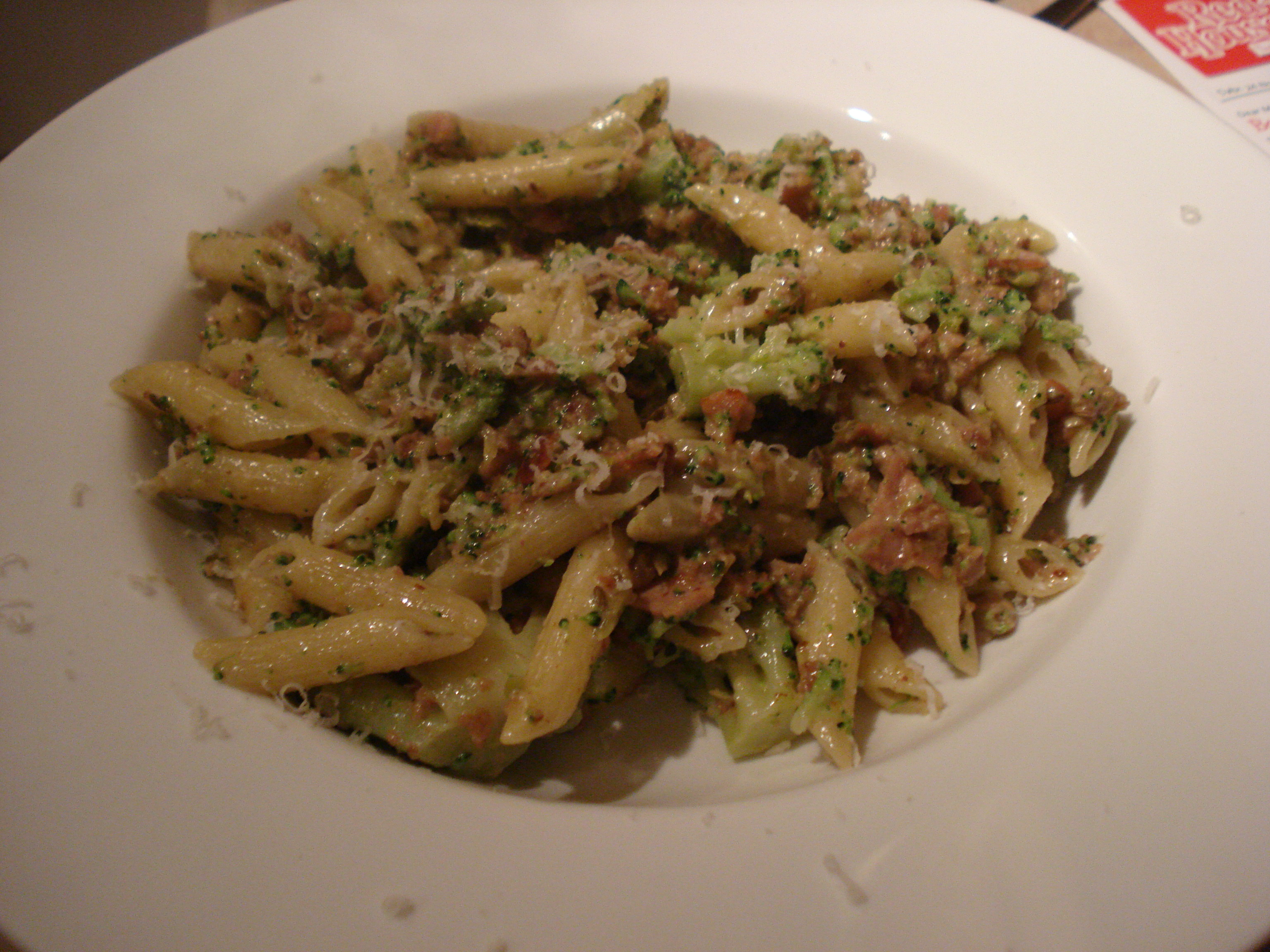 penne with sausage and broccoli