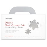 delia's christmas cake in a box