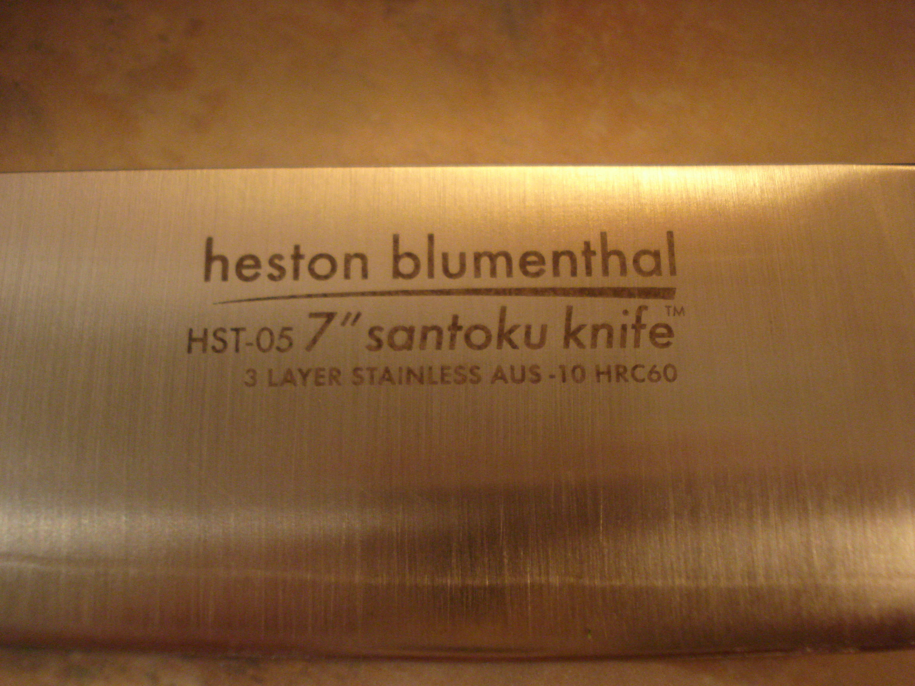 heston blumenthal santoku 18cm kitchen knife