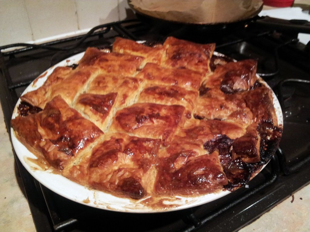 patchwork beef pie