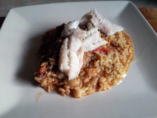 jollof masala rice pollock