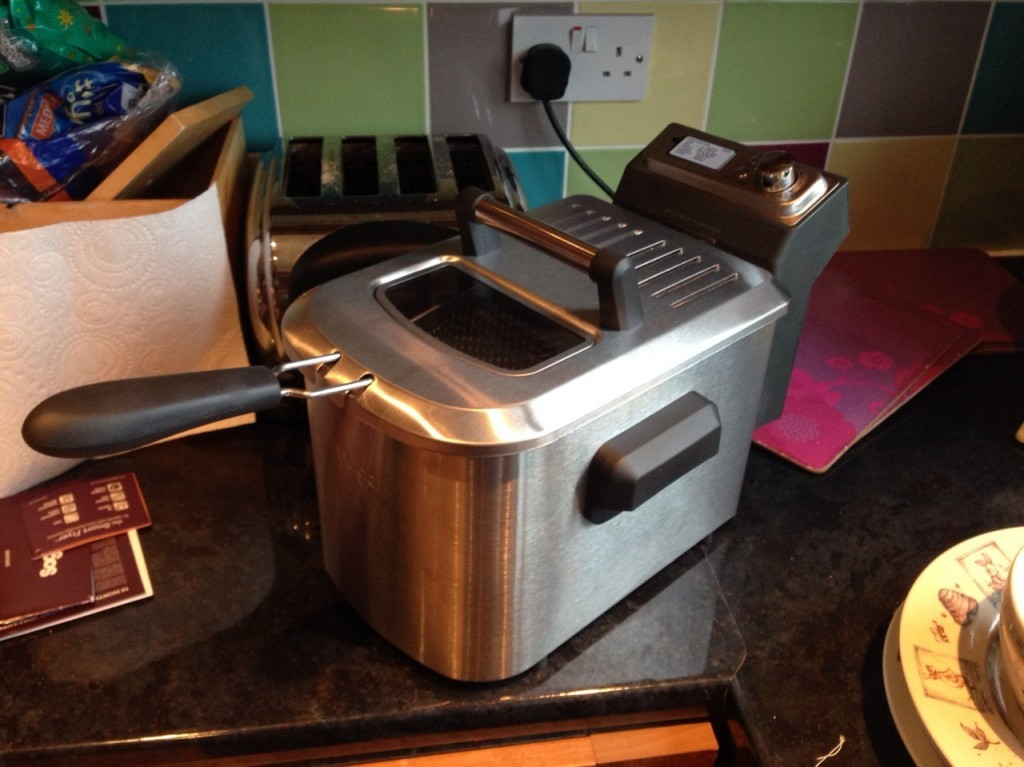 heston sage appliances deep fat fryer