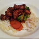 general tso's chicken cooked in the tefal actifry