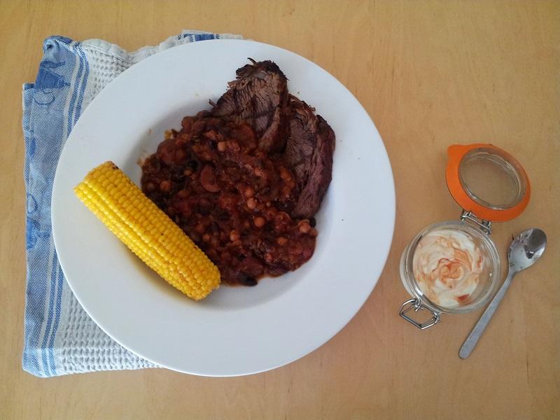 barbecue beef brisket feijaoda
