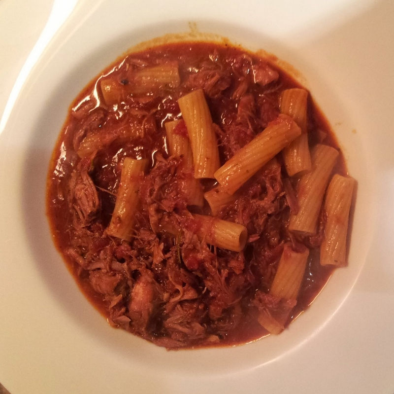 pork and lamb ragu