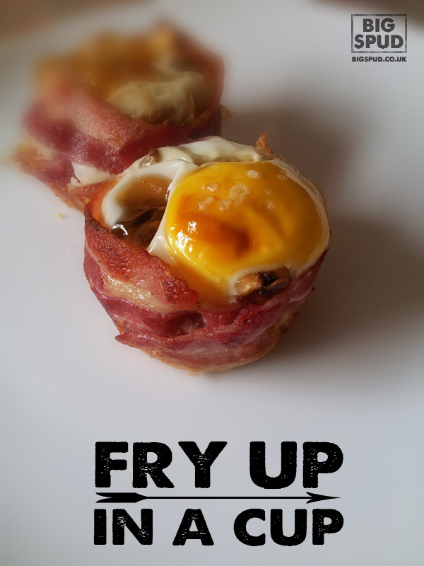fry up in a cup - BigSpud