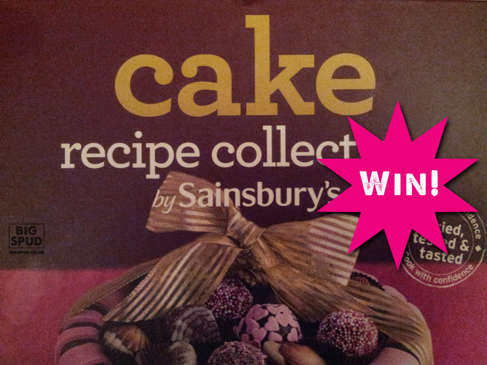 Cake Recipe Books Uk: Sainsbury's Cake Recipe Collection Book Giveaway