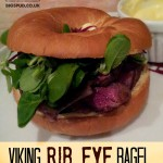 viking rib eye bagel