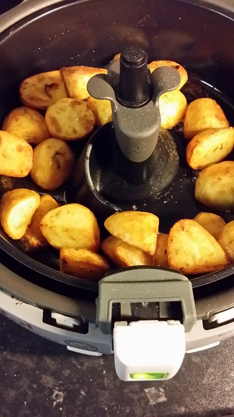 roast potatoes in tefal actifry