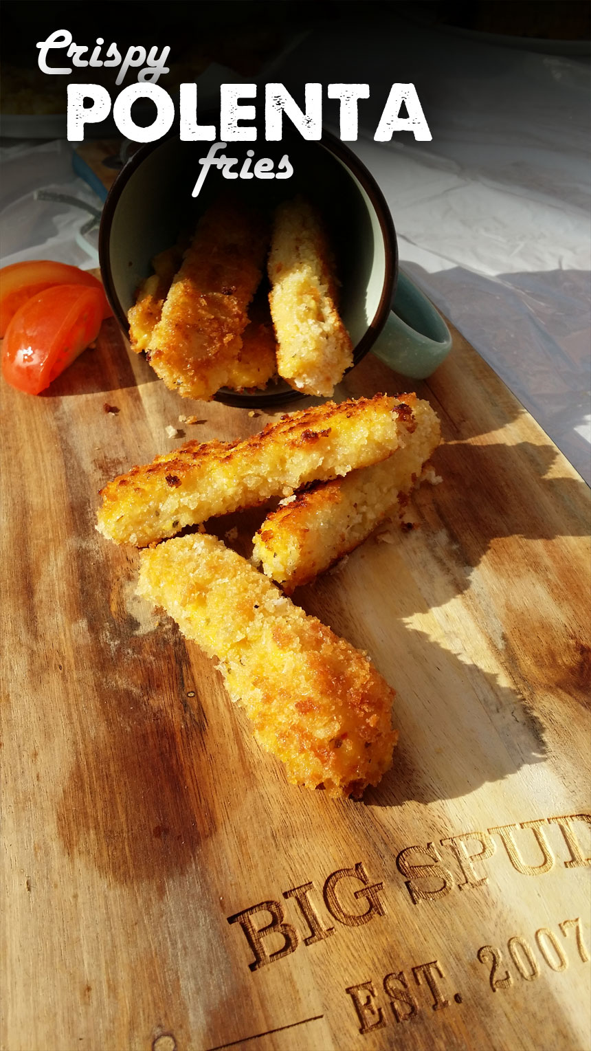 crispy polenta fries