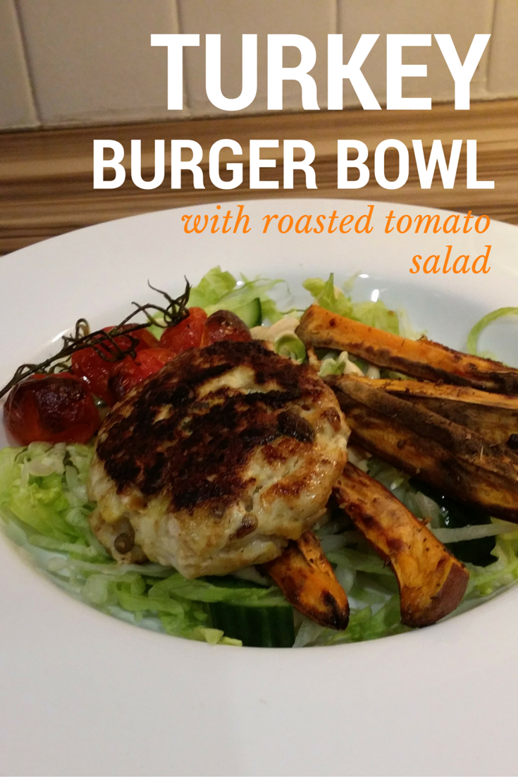 turkey burger bowls