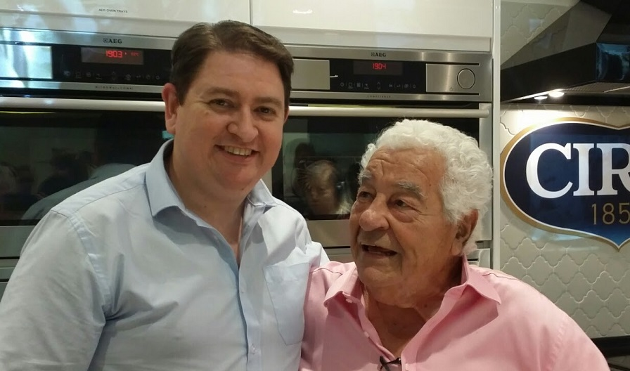 me with antonio carluccio