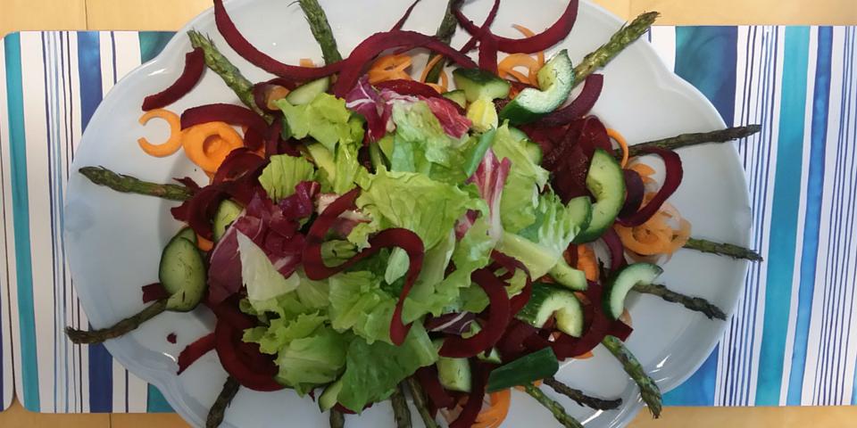 crunchy summer salad