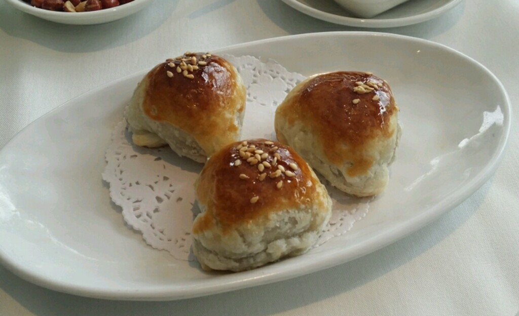 pork and honey puffs