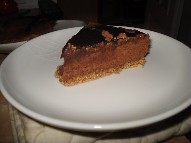 popping candy chocolate cake