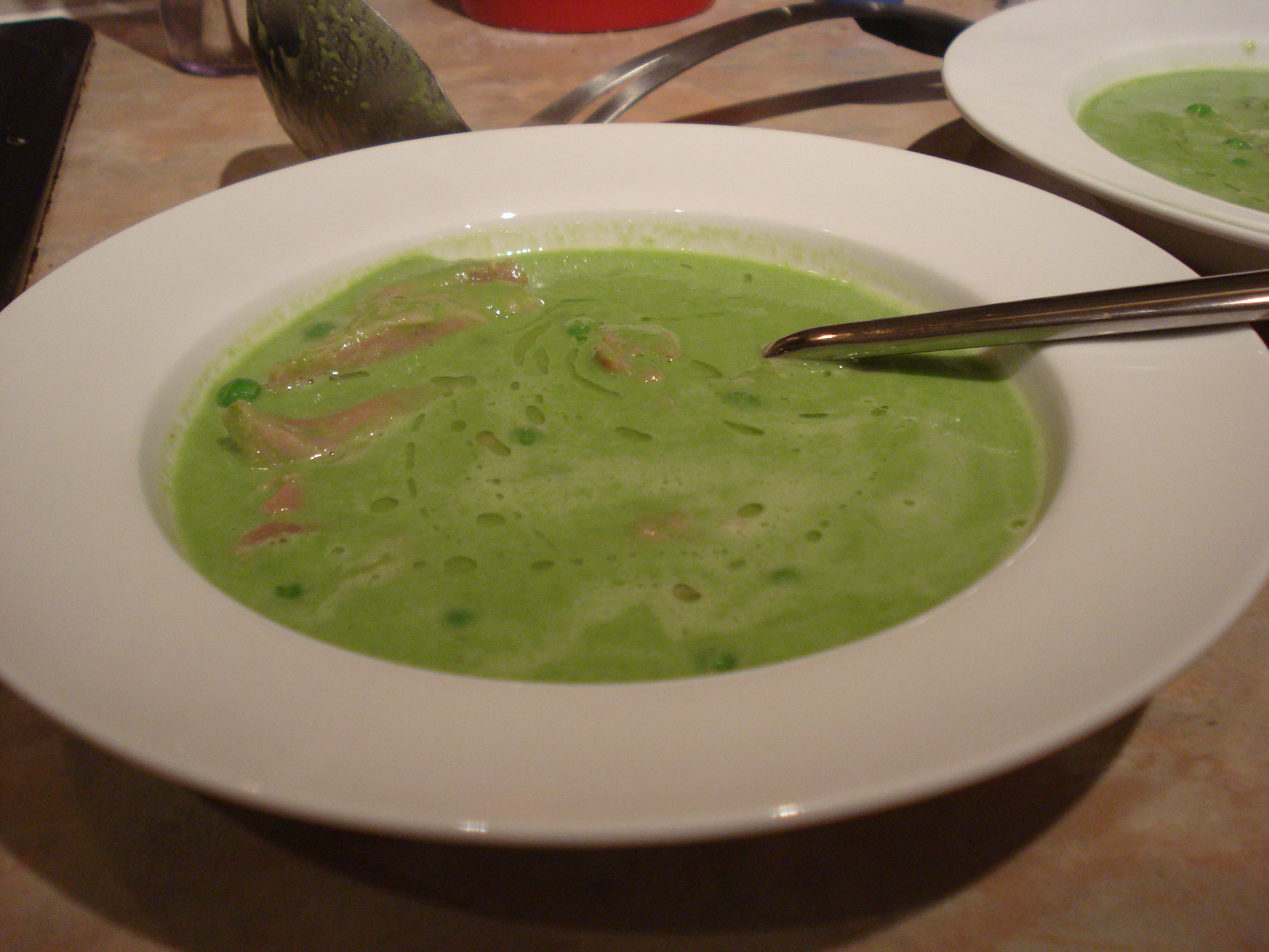heston blumenthal's pea and ham soup