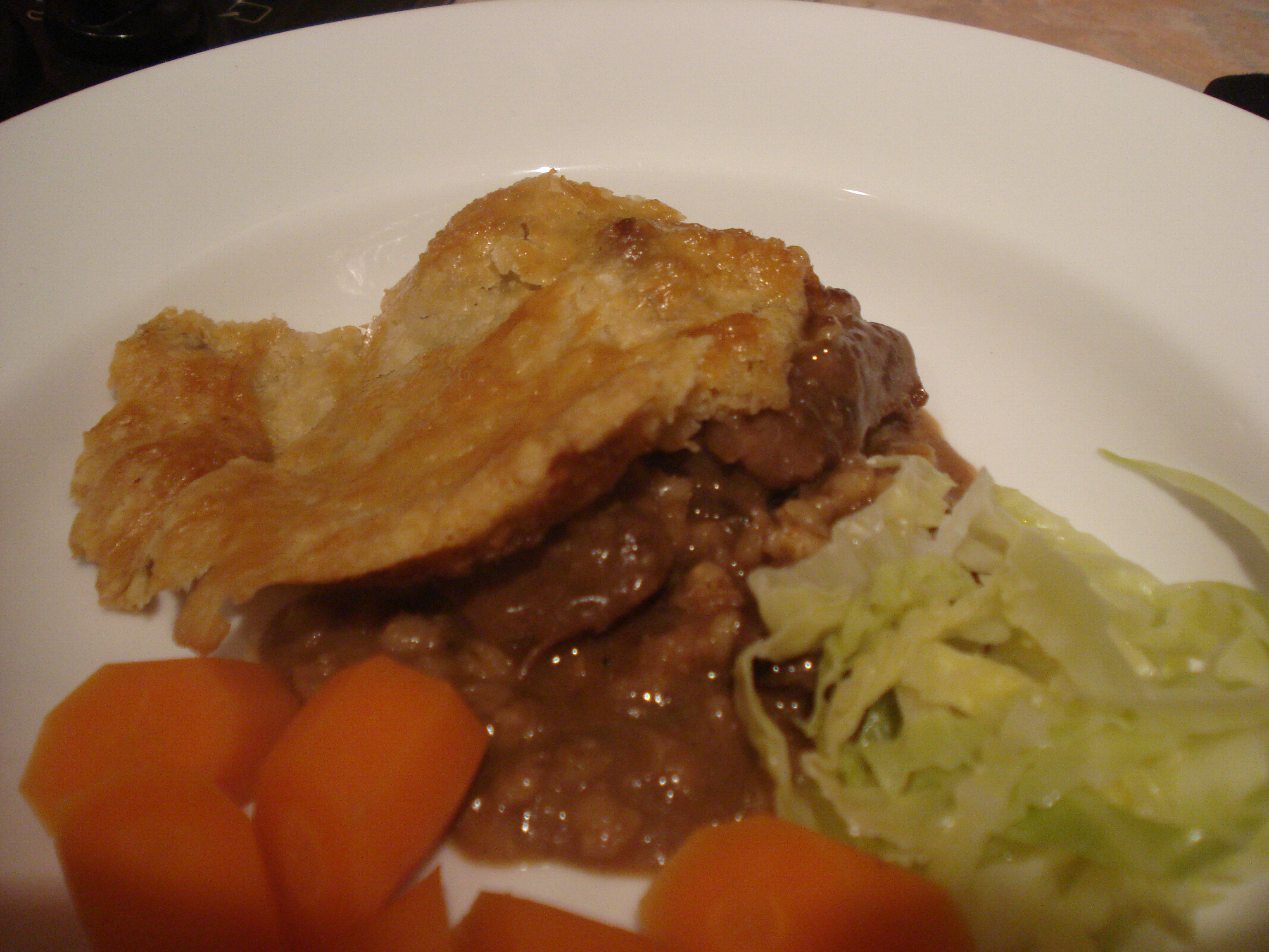 kate and wills beef pie