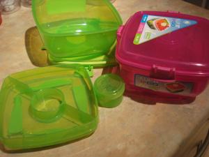 sistema klip-it lunchbox for salads