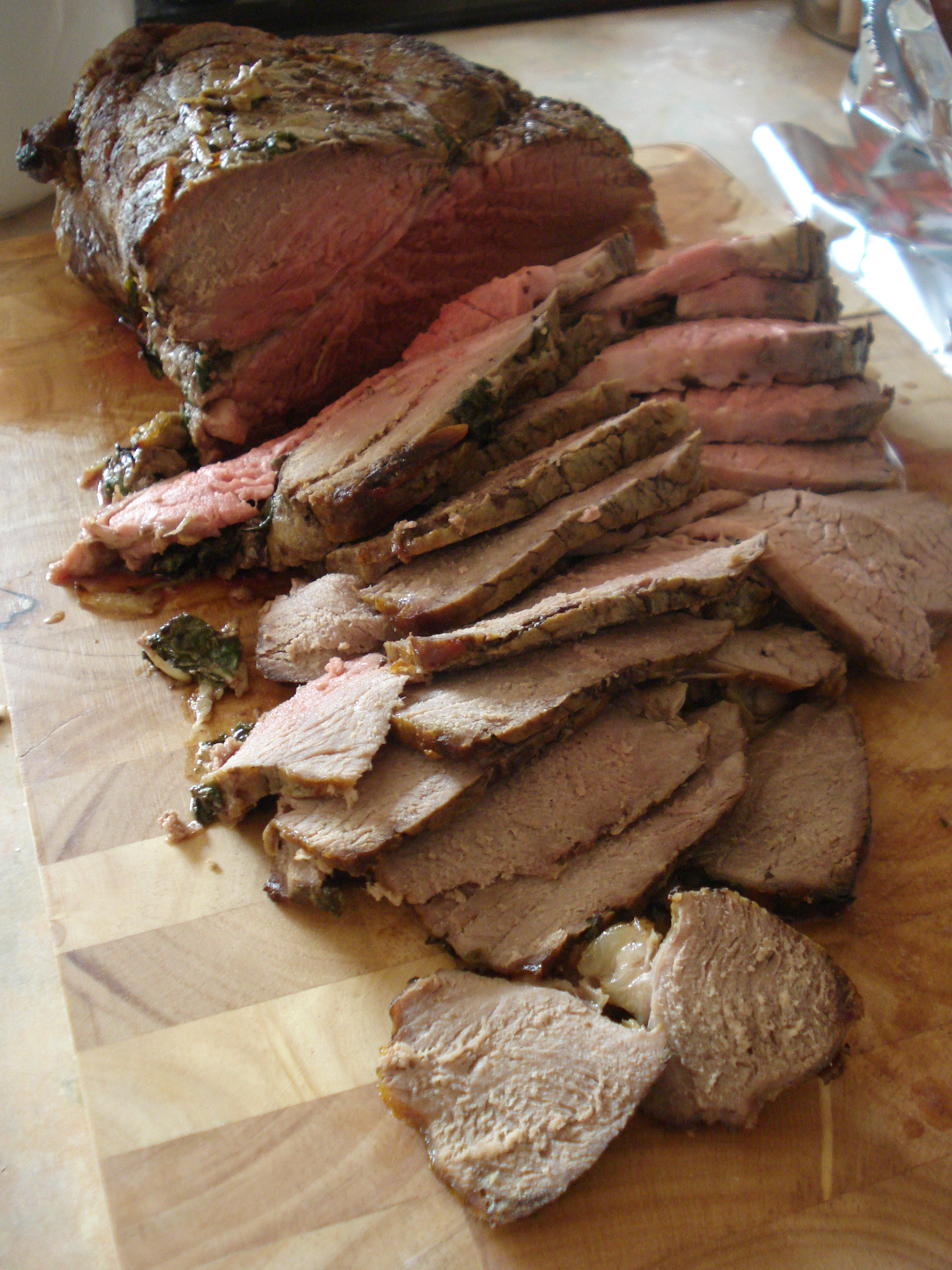 roast rose veal