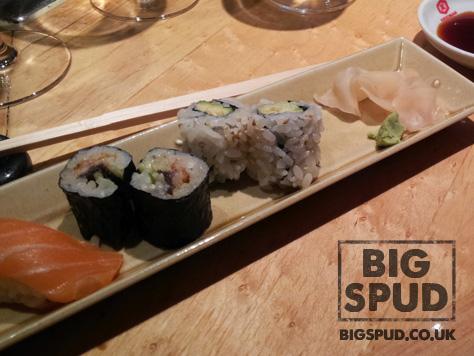sushi at matsuri st james
