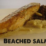 beached salmon recipe
