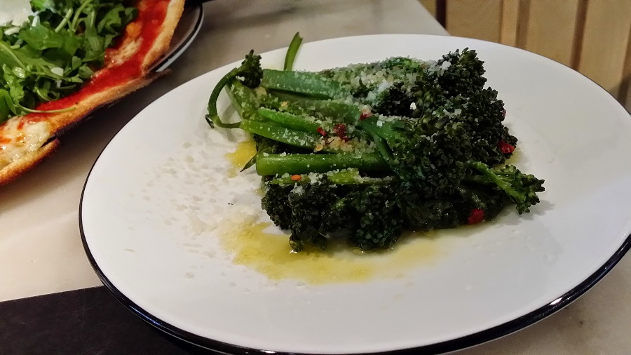 broccolini pizza express