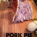 home made pork pie