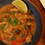 black garlic coconut curry