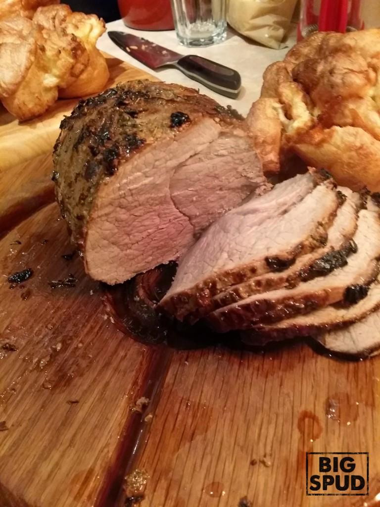 roast top rump beef