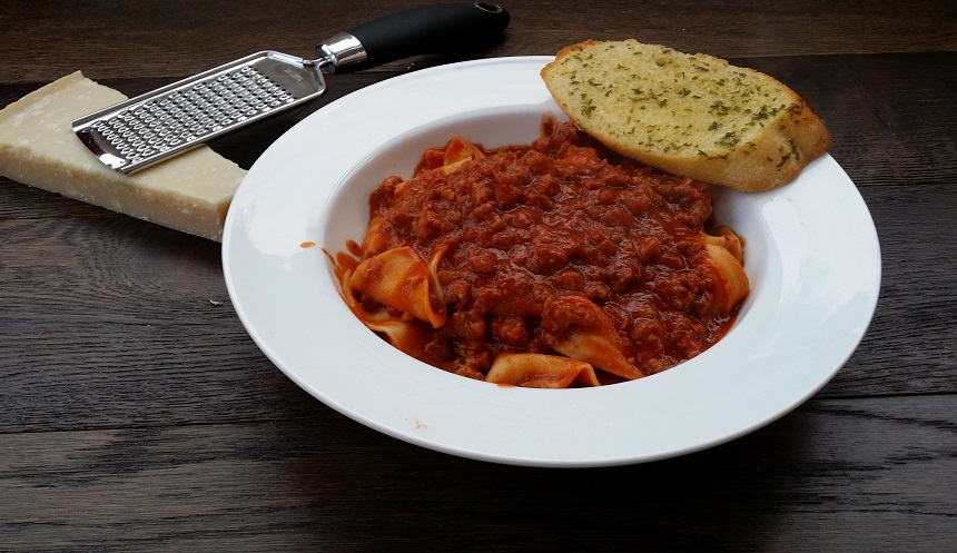 sausage papardelle jamie's italian style