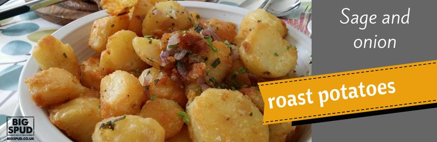 sage and onion roast potatoes