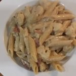 penne with mascarpone